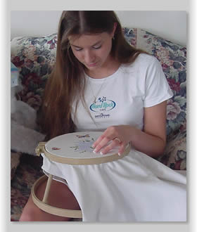 Enhance the enjoyment of needlepoint or crossstitch