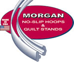 Morgan No-Slip Hoops & Quilt Stands